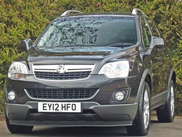 used Vauxhall Antara EXCLUSIV 2.2 CDTI 4X4 AUTOMATIC in dorset