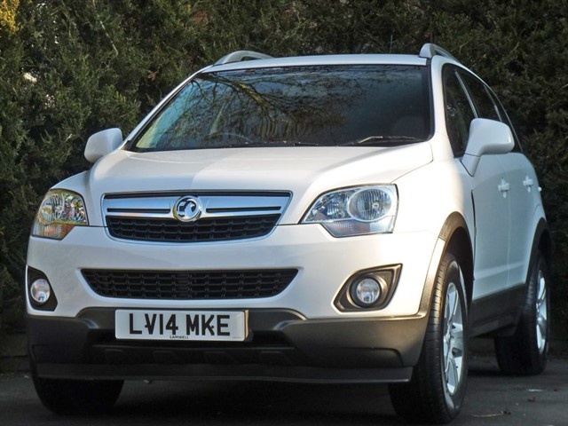used Vauxhall Antara EXCLUSIV in dorset