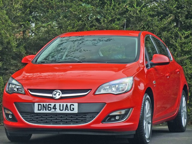 used Vauxhall Astra 1.4 SRi in dorset