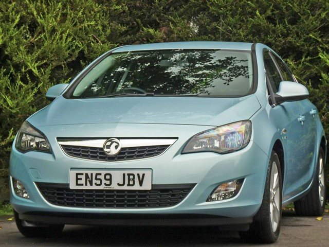 used Vauxhall Astra 1.6 SRI in dorset