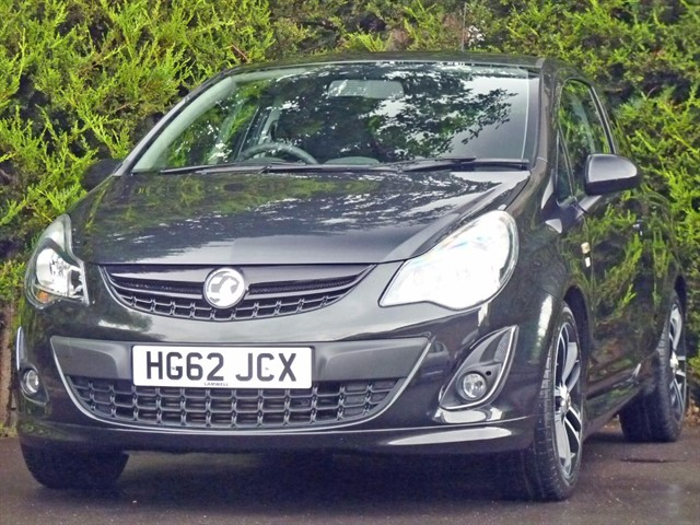 used Vauxhall Corsa 1.4 BLACK EDITION in dorset