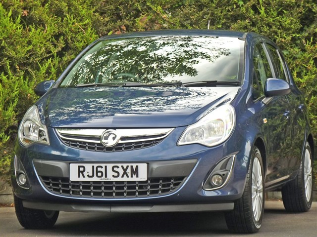 used Vauxhall Corsa 1.2 EXCITE in dorset