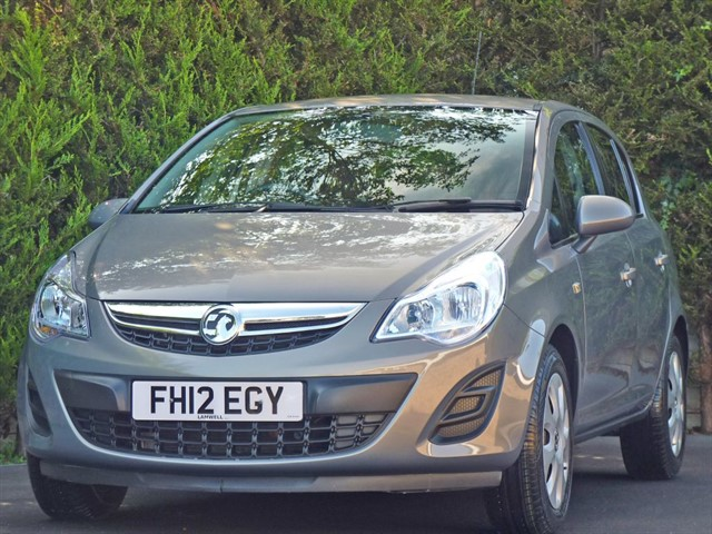 used Vauxhall Corsa 1.2 EXCLUSIV in dorset