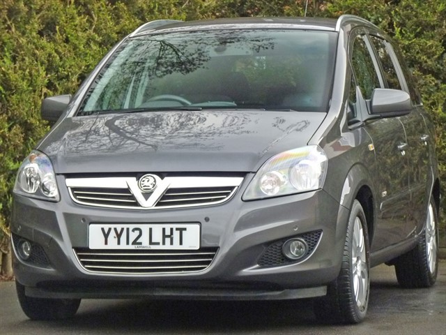 used Vauxhall Zafira DESIGN in dorset