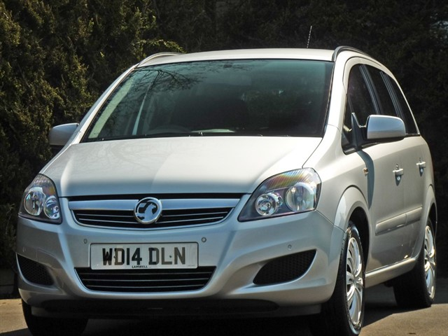used Vauxhall Zafira EXCLUSIV in dorset