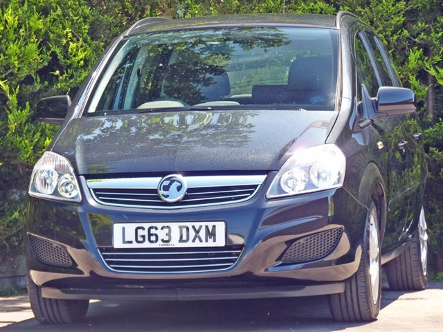 used Vauxhall Zafira EXCLUSIV 7 SEATER in dorset