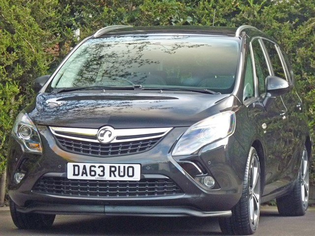 used Vauxhall Zafira Tourer 2.0 CDTi SRi AUTOMATIC in dorset