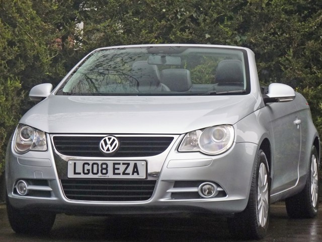 used VW Eos 1.6 FSI SPORT COUPE CONVERTIBLE in dorset