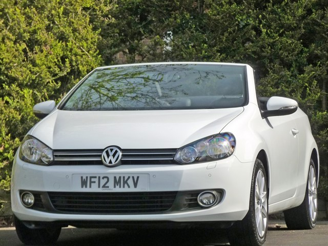 used VW Golf 1.6 TDi BLUEMOTION TECH CONVERTIBLE in dorset