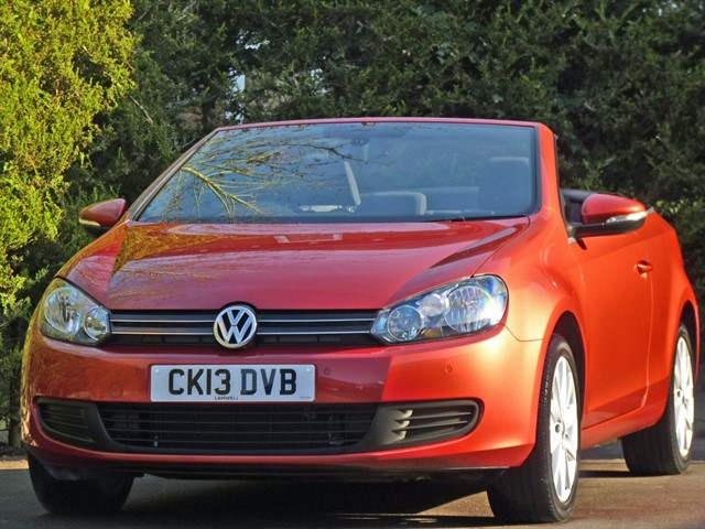 used VW Golf 1.4 TSI S CONVERTIBLE in dorset