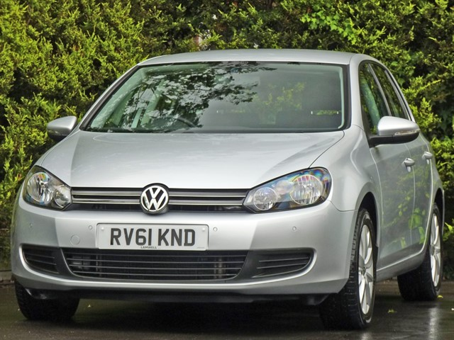 used VW Golf 1.6 TDi MATCH DSG AUTOMATIC in dorset