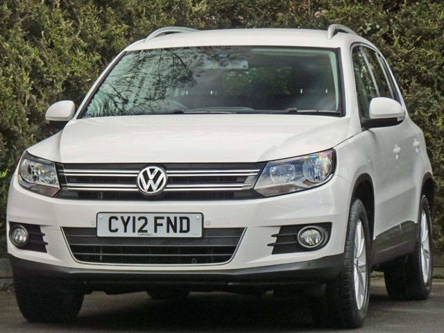 used VW Tiguan SE TDI BLUEMOTION TECHNOLOGY 4MOTION in dorset