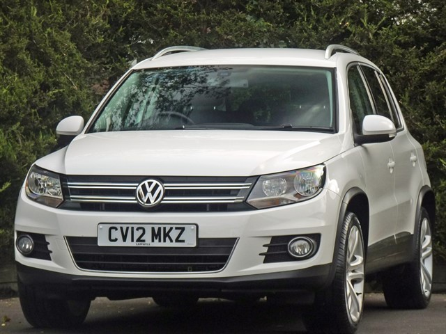 used VW Tiguan SPORT TDI BLUEMOTION TECHNOLOGY 4MOTION in dorset