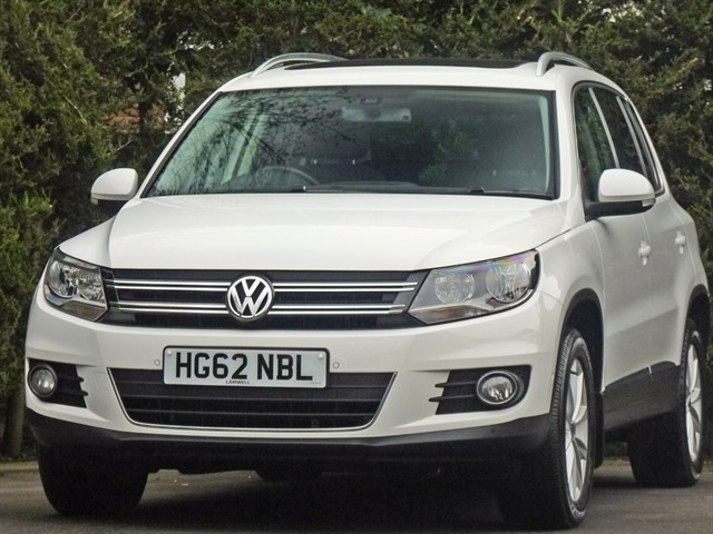 used VW Tiguan 2.0 TDI SE BLUEMOTION TECHNOLOGY 4MOTION DSG in dorset