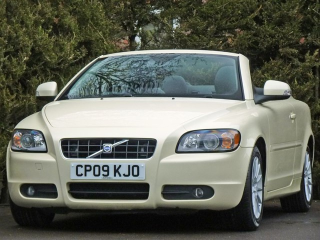 used Volvo C70 D S COUPE CONVERTIBLE in dorset