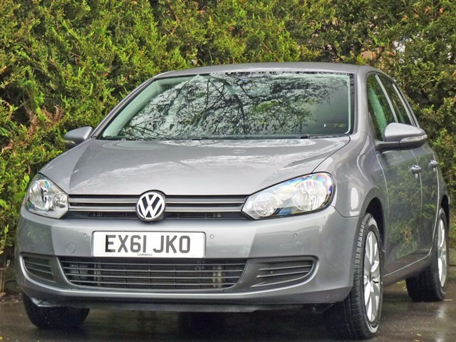 used VW Golf MATCH TDI DSG in dorset