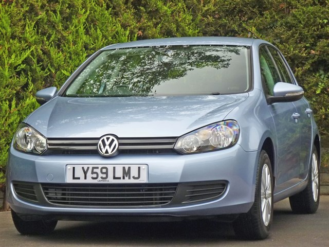 used VW Golf 1.6 TDI in dorset