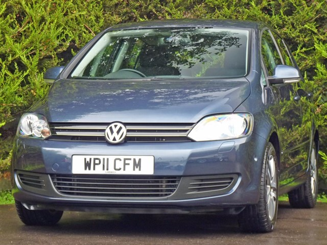 used VW Golf Plus 1.6 TDI SE  in dorset