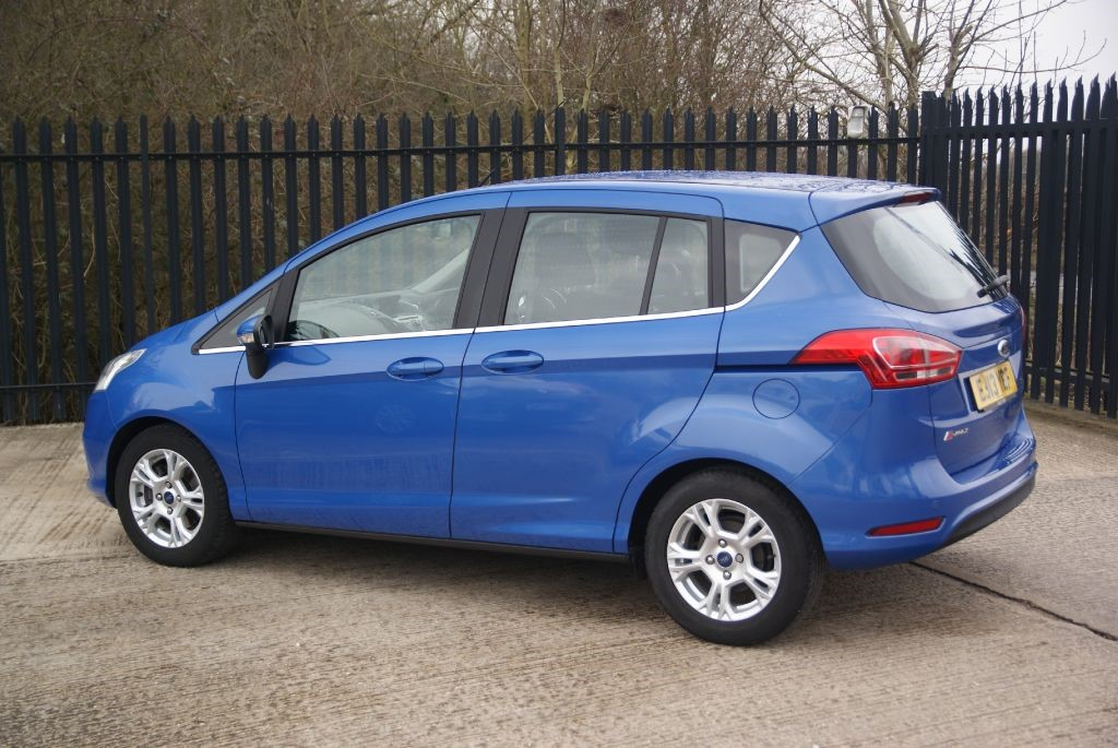 used nautical blue metallic ford b max for sale essex. Black Bedroom Furniture Sets. Home Design Ideas