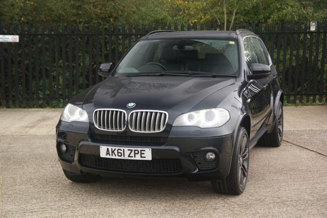 used BMW X5 XDRIVE40D M SPORT in colchester-essex