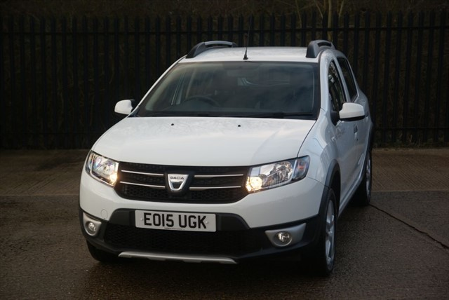 used Dacia Sandero STEPWAY LAUREATE TCE in colchester-essex