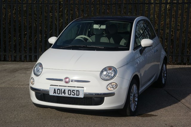 used Fiat 500 LOUNGE in colchester-essex