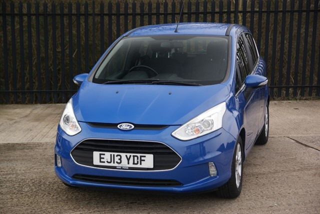 used Ford B-Max ZETEC in colchester-essex