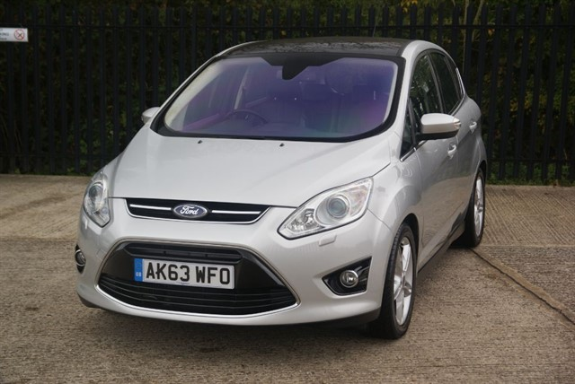 used Ford C-Max TITANIUM X TDCI in colchester-essex
