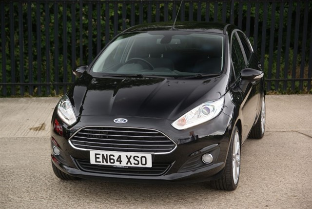 used Ford Fiesta TITANIUM in colchester-essex