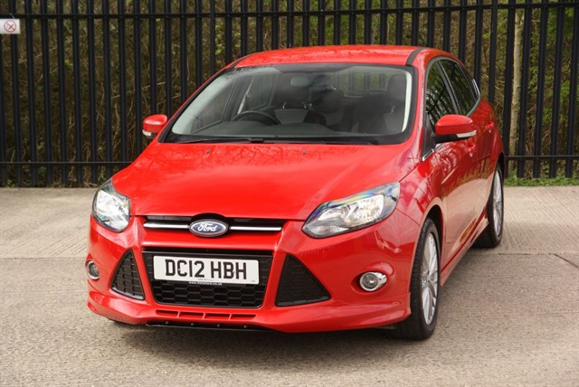 used Ford Focus ZETEC S ECOBOOST in colchester-essex