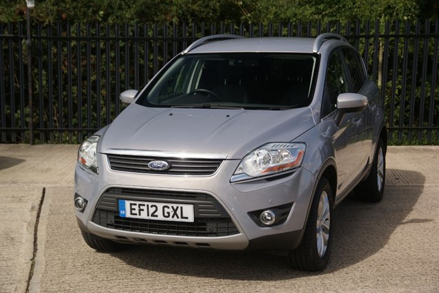 used Ford Kuga TITANIUM TDCI 2WD in colchester-essex