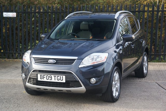 used Ford Kuga ZETEC TDCI AWD in colchester-essex