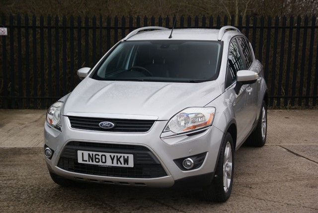 used Ford Kuga TITANIUM TDCI AWD in colchester-essex