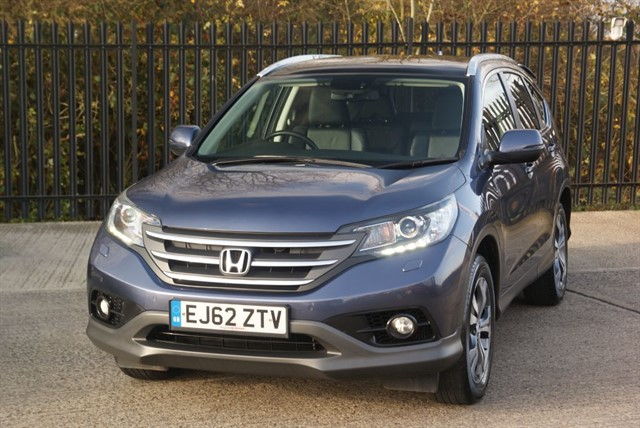 used Honda CR-V I-DTEC EX in colchester-essex