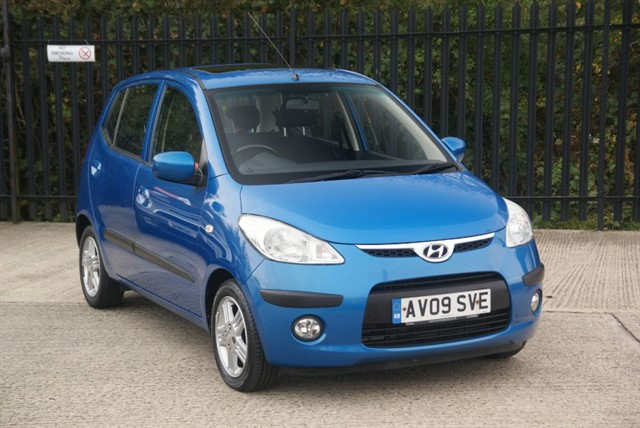 used Hyundai i10 STYLE in colchester-essex