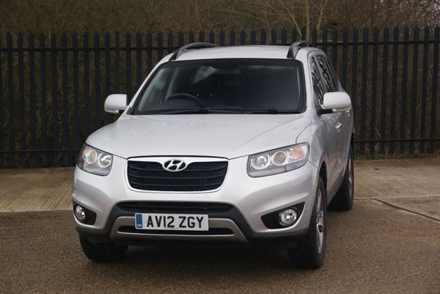 used Hyundai Santa Fe PREMIUM CRDI in colchester-essex
