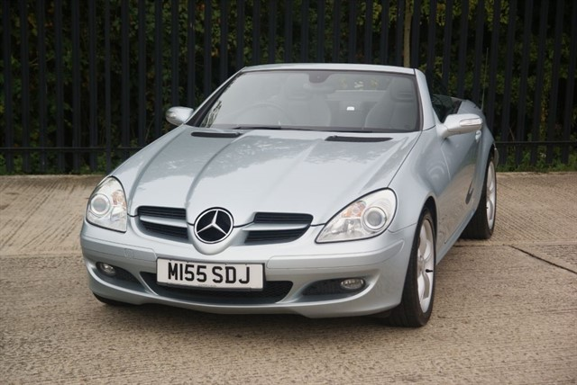 used Mercedes SLK SLK200 KOMPRESSOR in colchester-essex