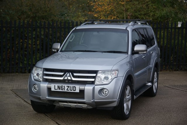 used Mitsubishi Shogun DIAMOND DI-D LWB in colchester-essex