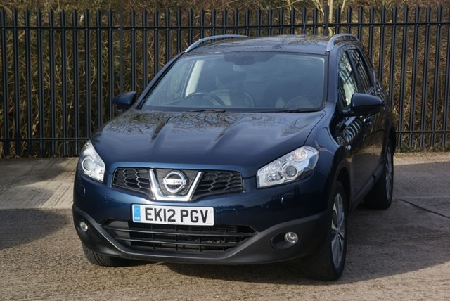 used Nissan Qashqai TEKNA PLUS 2 4WD in colchester-essex