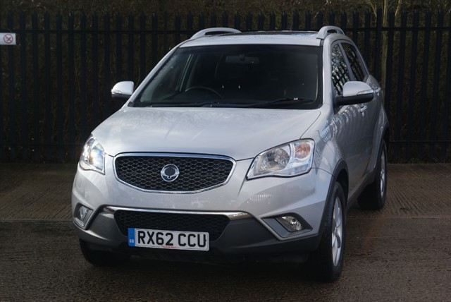 used Ssangyong Korando EX in colchester-essex