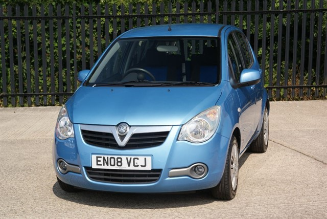 used Vauxhall Agila CLUB in colchester-essex