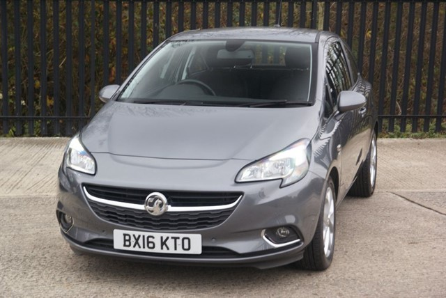 used Vauxhall Corsa SRI ECOFLEX in colchester-essex