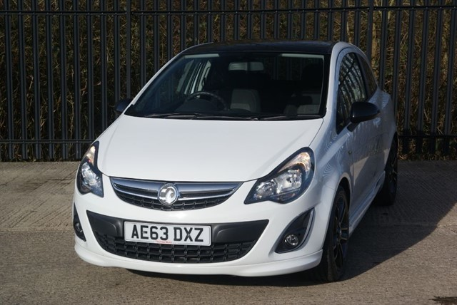 used Vauxhall Corsa LIMITED EDITION in colchester-essex