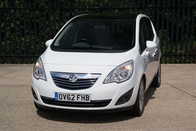 used Vauxhall Meriva SE CDTI in colchester-essex