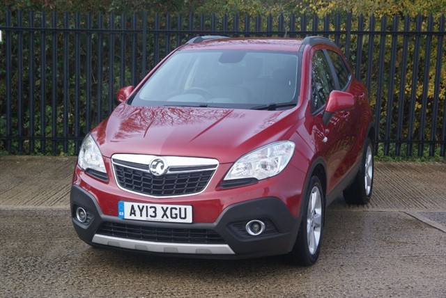 used Vauxhall Mokka EXCLUSIV S/S in colchester-essex
