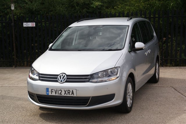used VW Sharan SE TDI DSG in colchester-essex