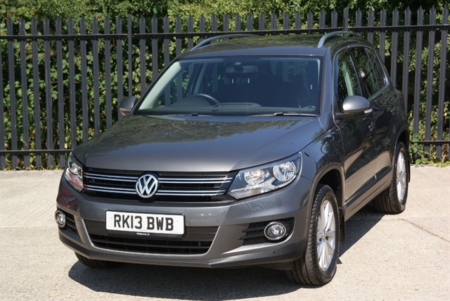 used VW Tiguan SE TDI BLUEMOTION TECHNOLOGY 4MOTION DSG in colchester-essex