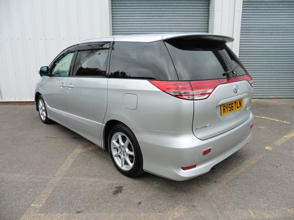 used silver metallic toyota previa for sale surrey. Black Bedroom Furniture Sets. Home Design Ideas