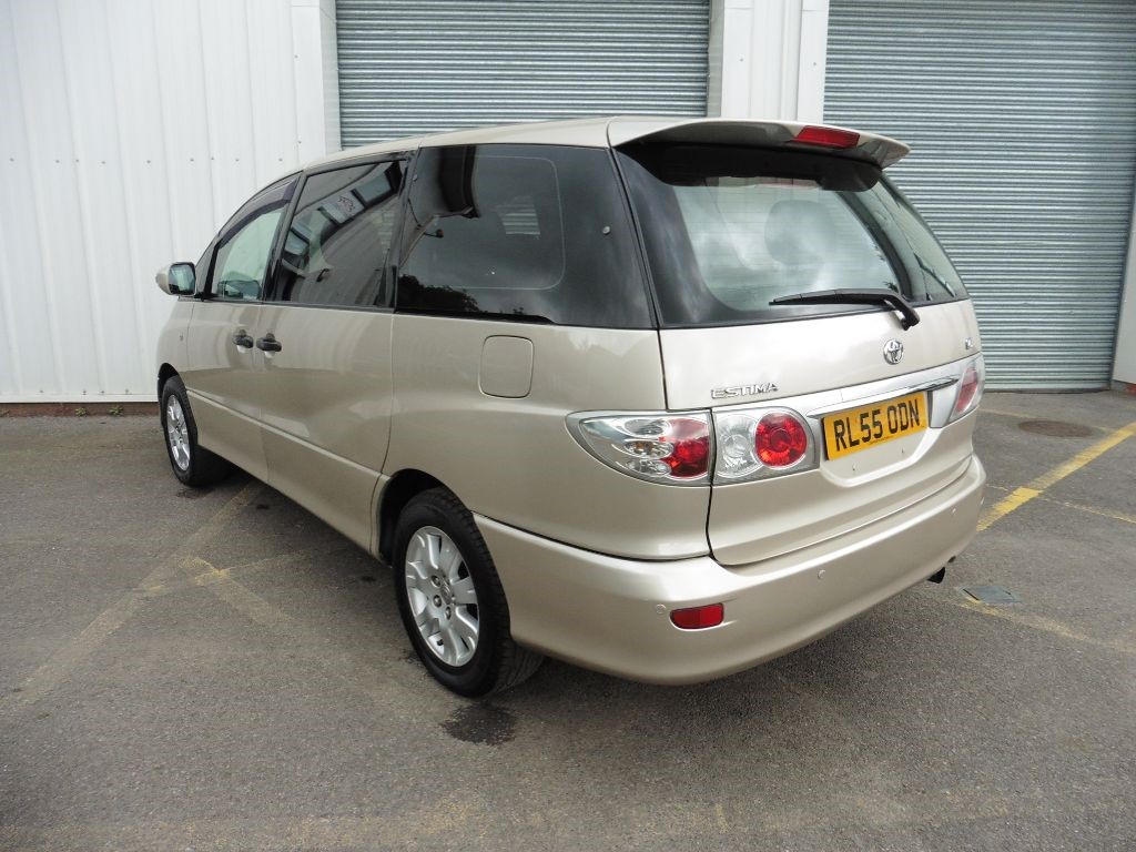 used gold metallic toyota previa for sale surrey. Black Bedroom Furniture Sets. Home Design Ideas