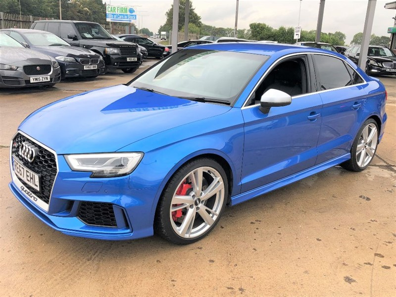 used Audi A3 RS 3 QUATTRO in cambridgeshire
